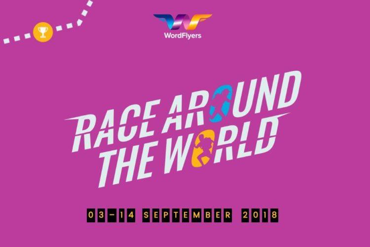 Word Flyers Race Around The World