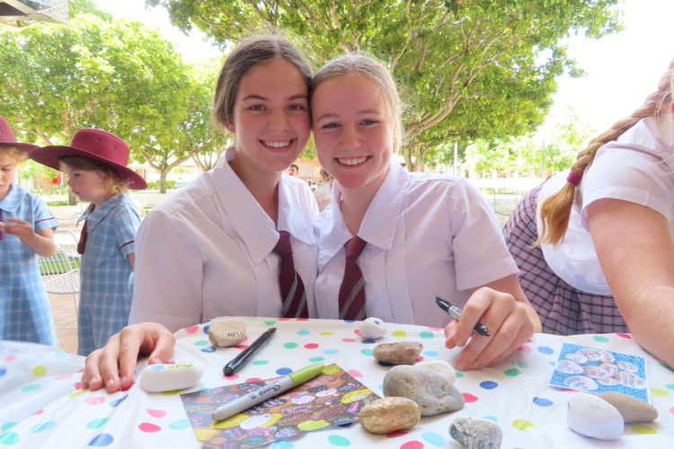 Ormiston College Kindness Rocks 1