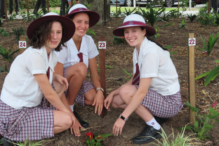 Ormiston College Year 12 Tree Planting 2019 1
