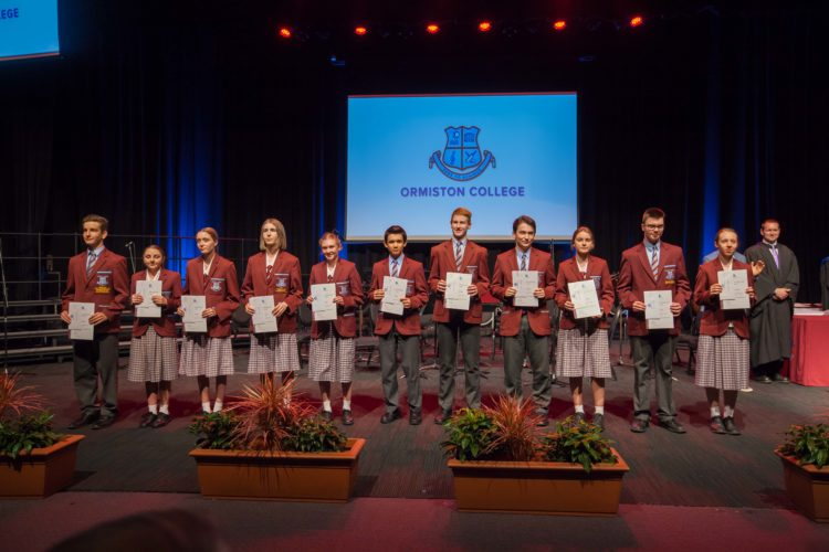Ormiston College Speech Night 2019 1