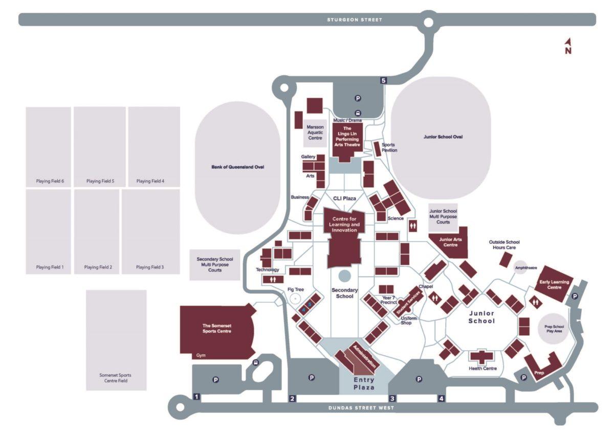 Ormiston College Map