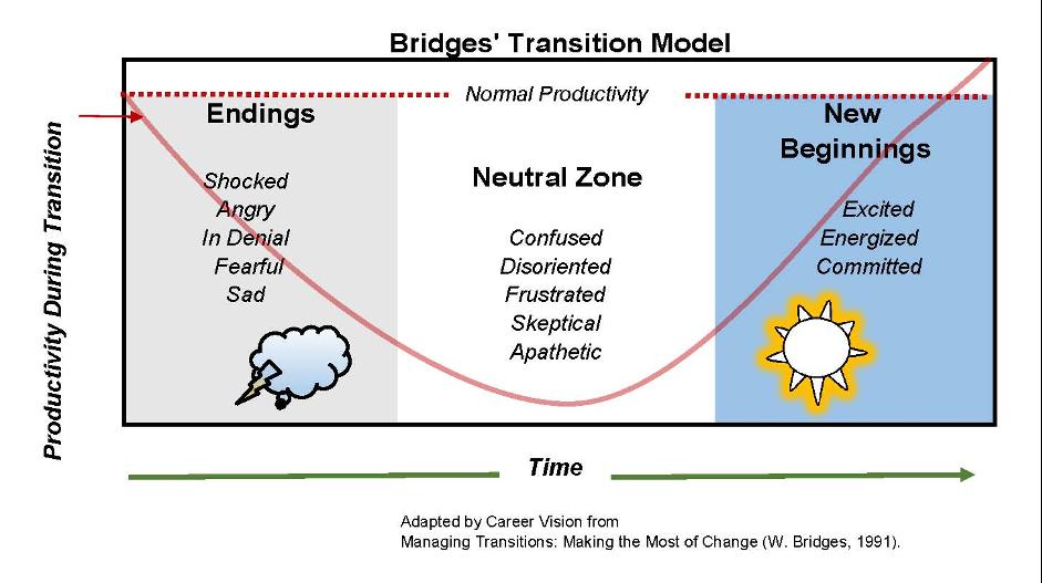 Bridges' Transition Model