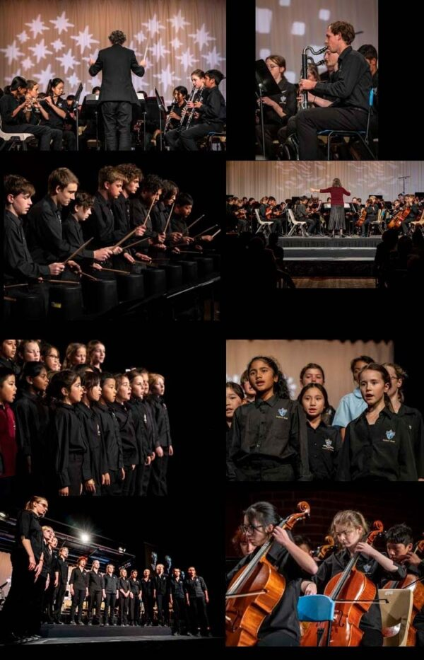 Scenes from the 2021 Autumn Concert
