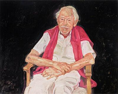 Peter Wegner, 'Portrait of Guy Warren at 100'