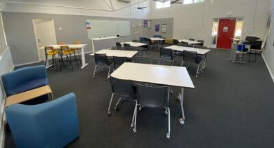 Majura classroom after renovation
