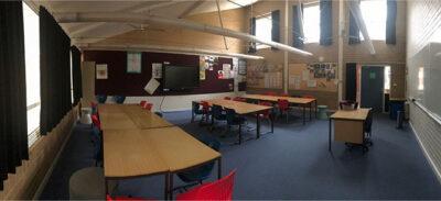 Majura classroom prior to renovation