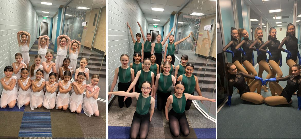 Dance competition groups - June 2021