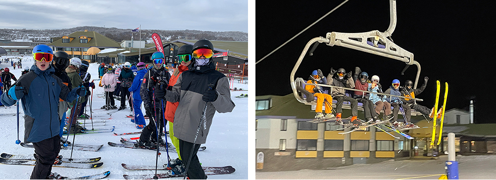 Snowsports Camp 2021 - on the snow day and night