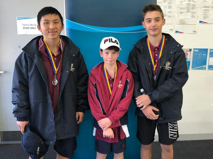 Tennis Pennants - Division 6, runners-up