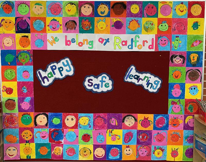 We belong at Radford: happy, safe, learning