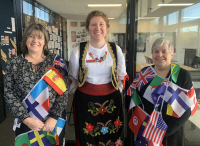 Library staff - Languages Week