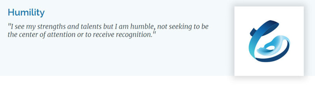 VIA Humility banner