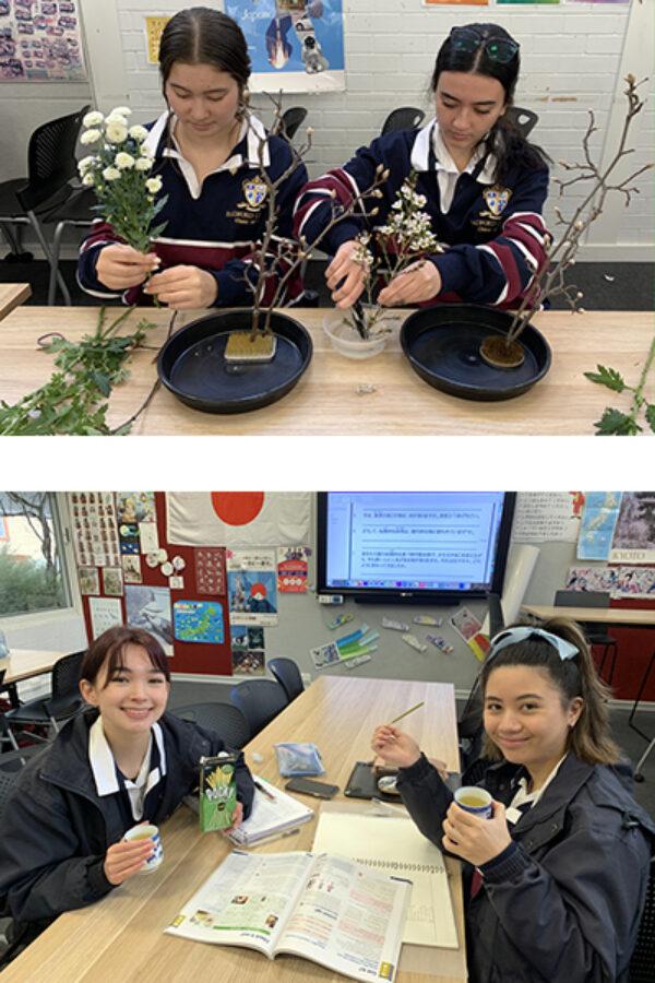 Ikebana collage