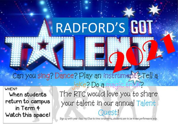 Radford's Got Talent