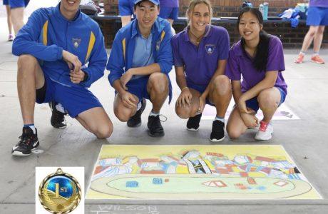 1St Team Wilson Ss Team 2 Teresa Poon Bayleigh Head Matthew Chan Jinho Jung Cotton
