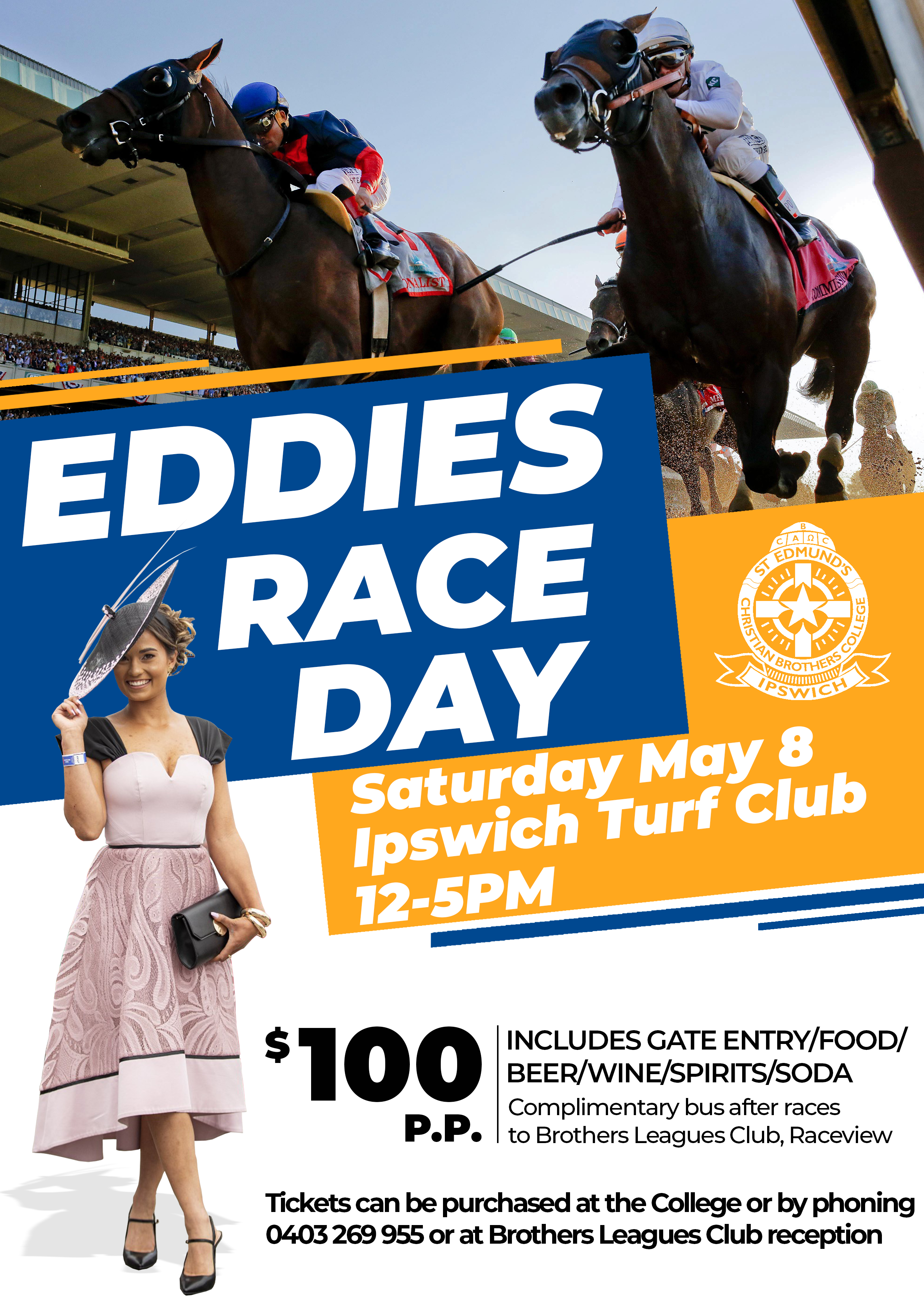 Eddies Race Day