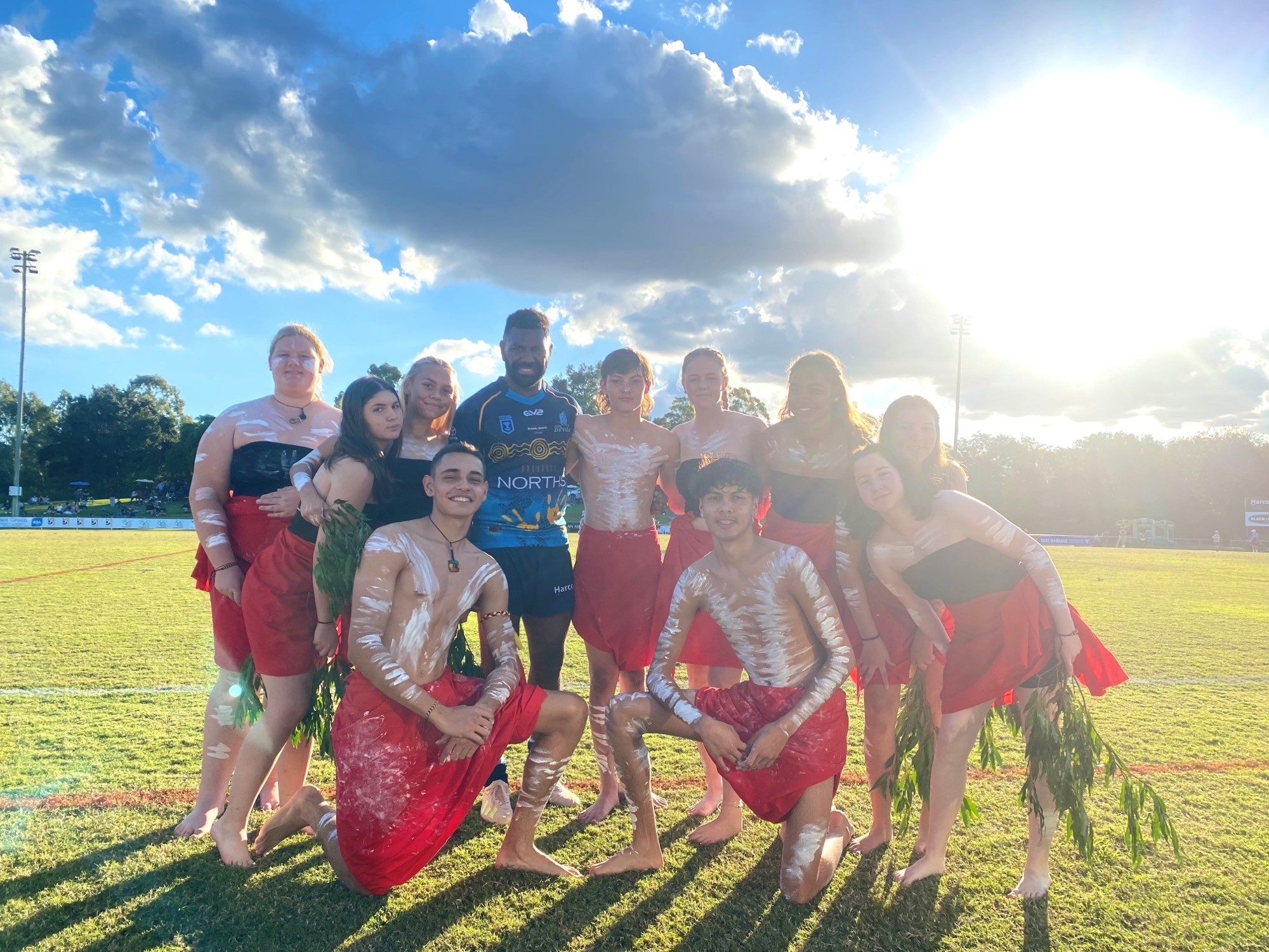 Norths Devils rugby league game