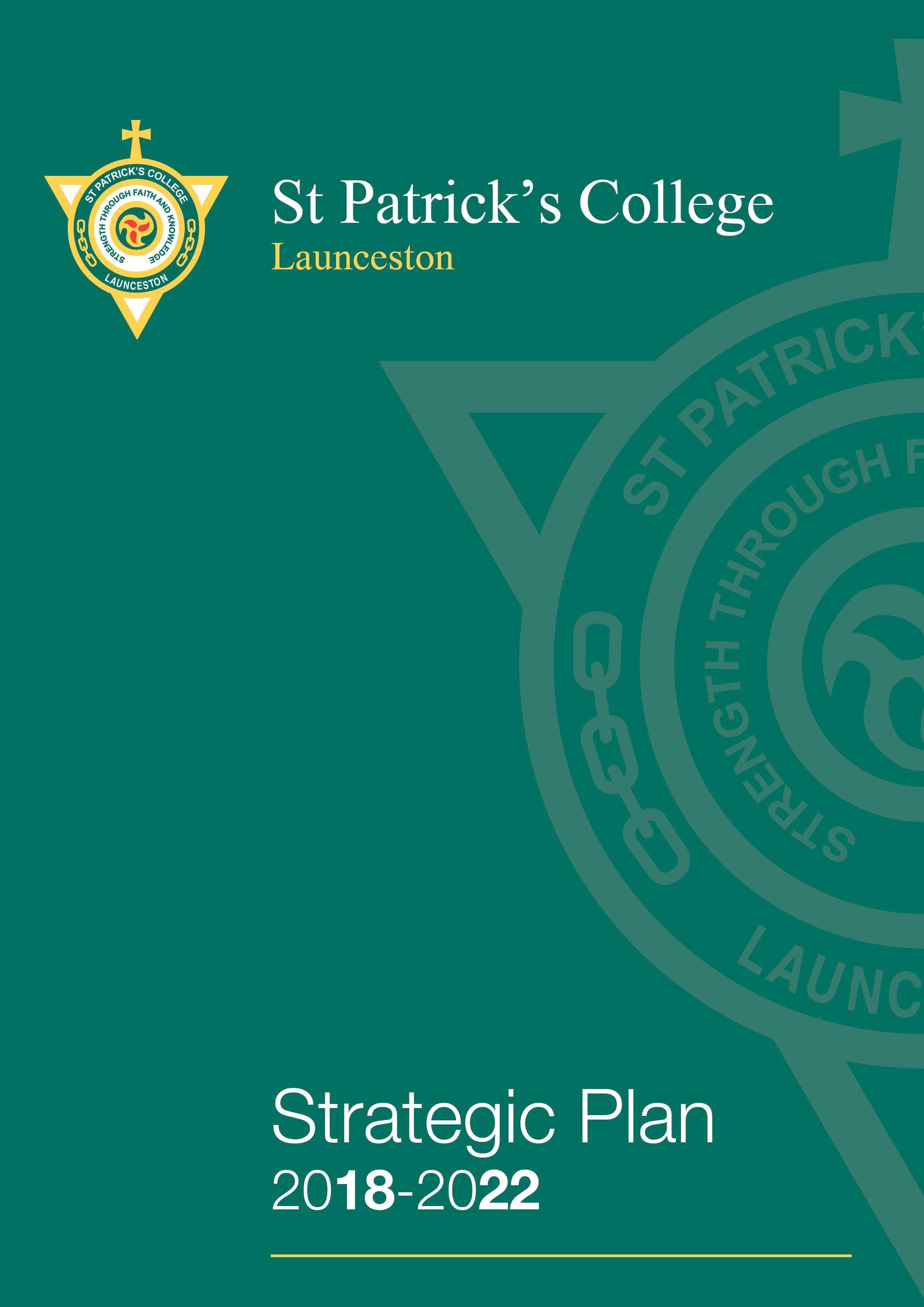 St Patrick's College Strategic Plan 2018-2022