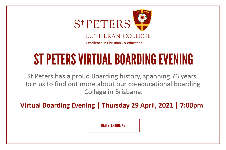 Virtual Boarding Open Evening