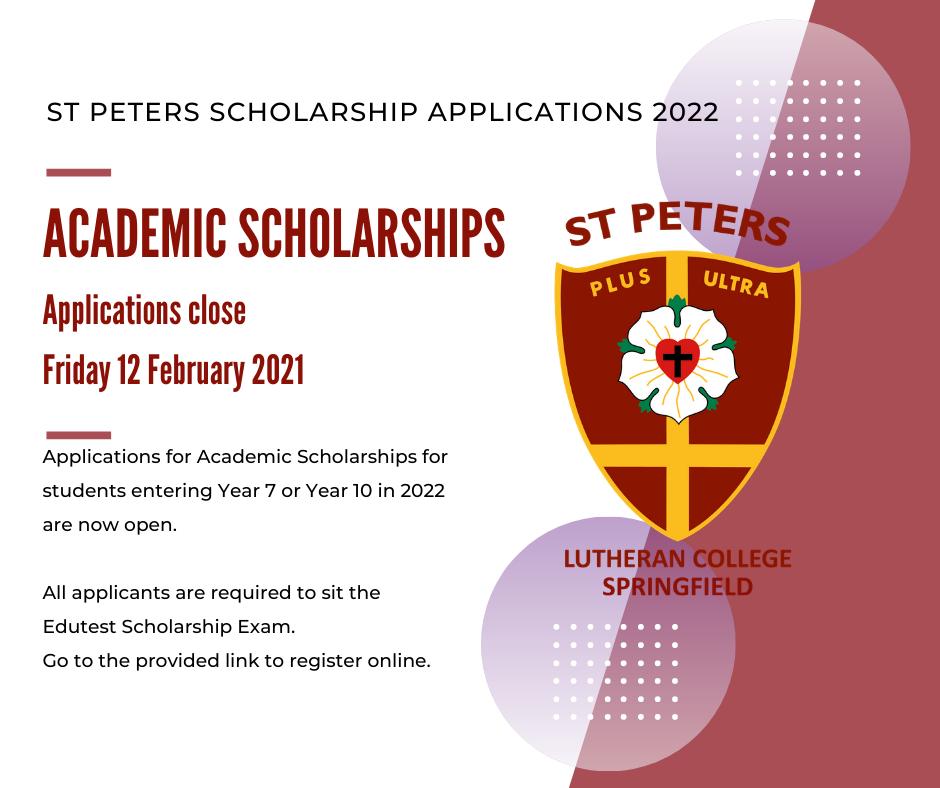 Academic Scholarships 2022