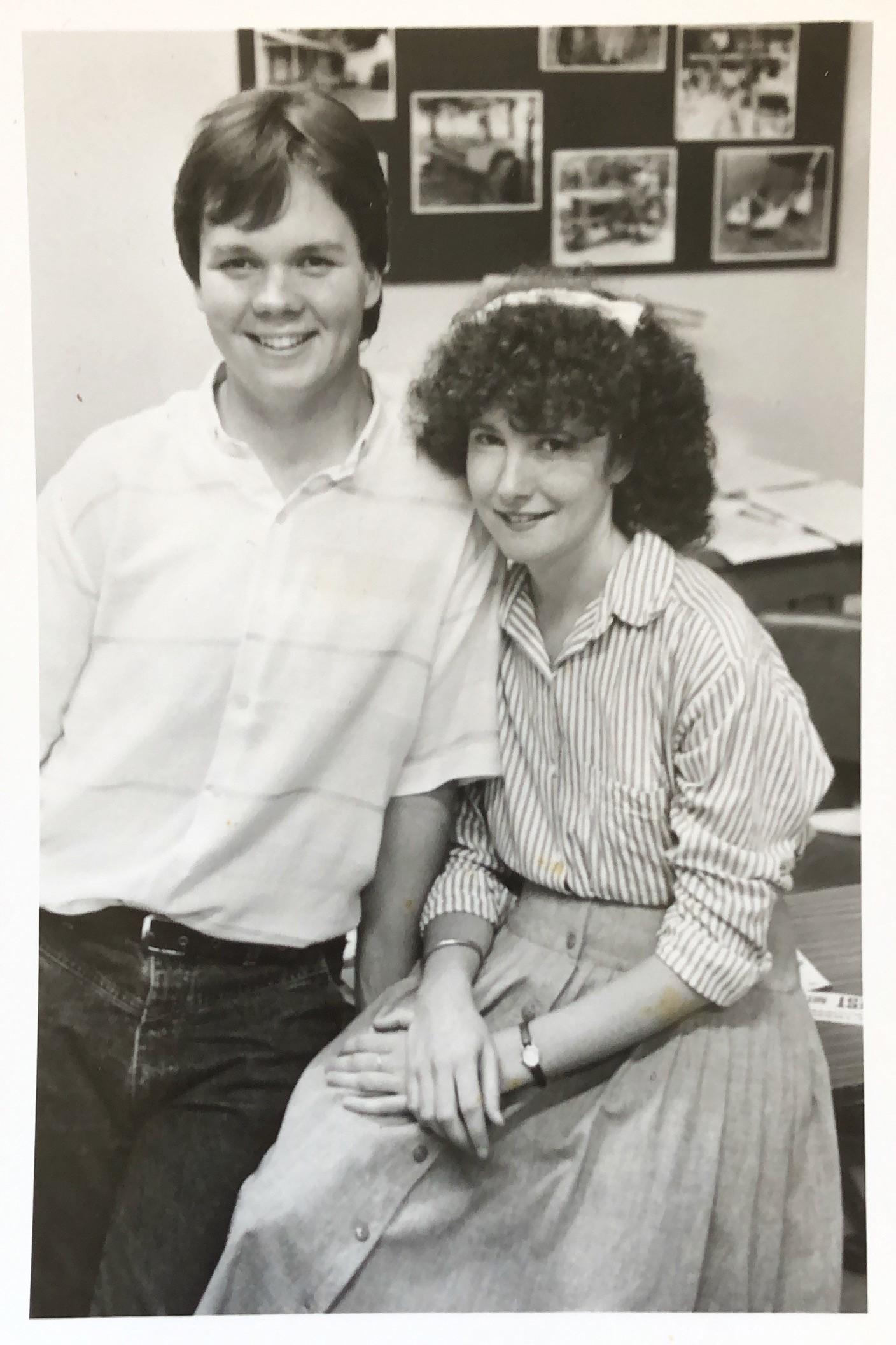 Bruce and Margot Rasmussen