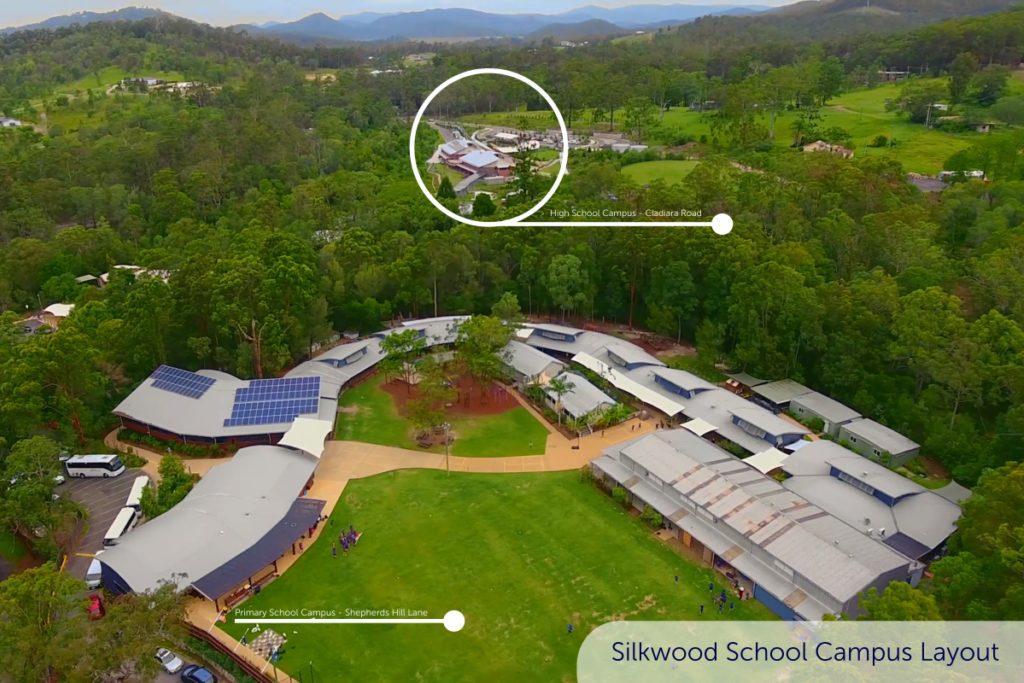 Silkwood School Campus Layout