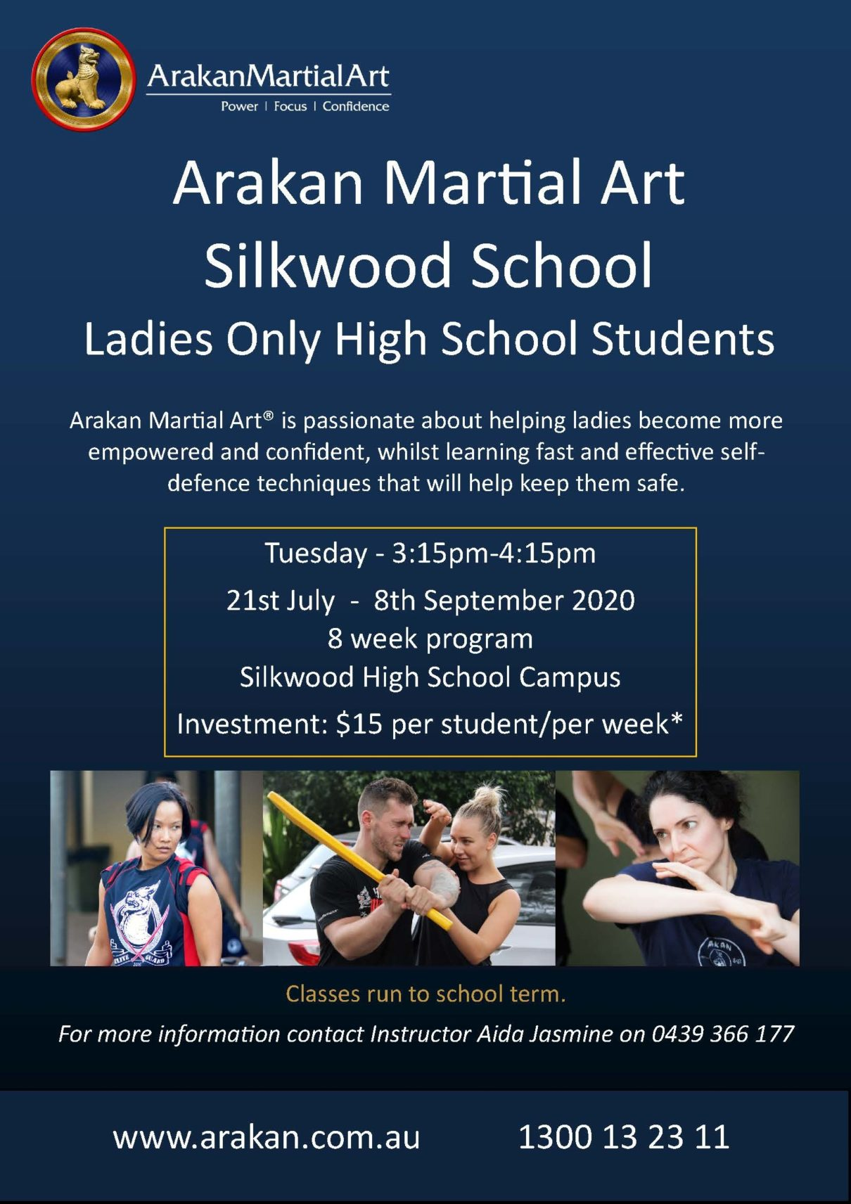 Arakan Martial Art - Silkwood School