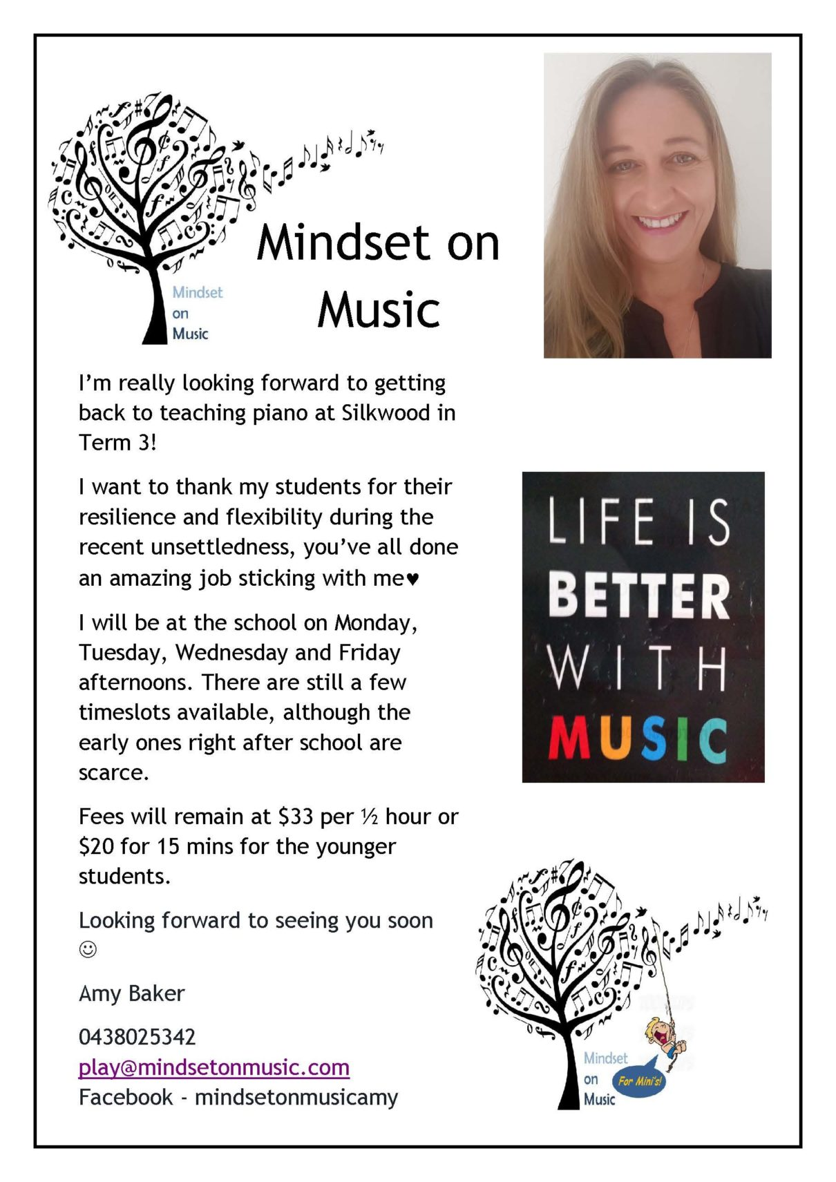 Mindset on Music - Silkwood School