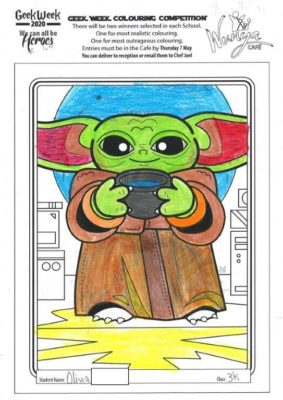 Colouring  Comp 2020  Star  Wars 10