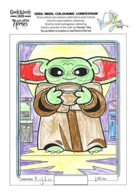 Colouring  Comp 2020  Star  Wars 12