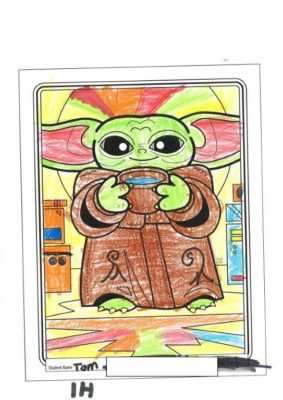 Colouring  Comp 2020  Star  Wars 13