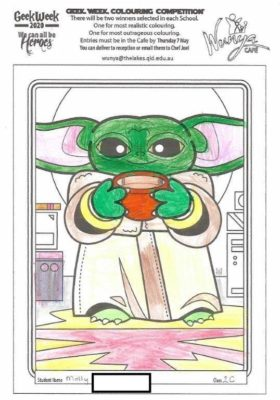Colouring  Comp 2020  Star  Wars 21
