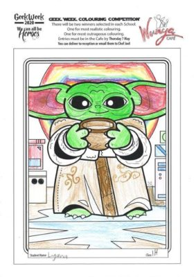 Colouring  Comp 2020  Star  Wars 23