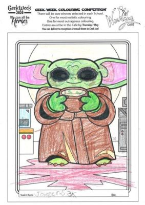 Colouring  Comp 2020  Star  Wars 4