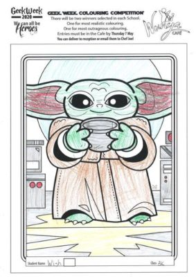 Colouring  Comp 2020  Star  Wars 5