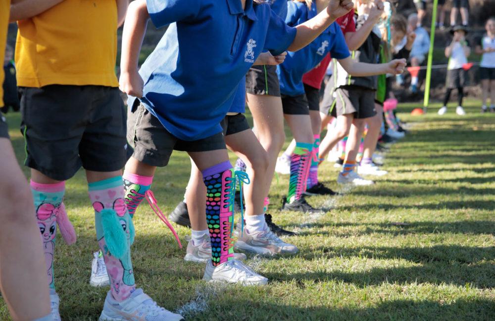 Colour + Fun = The Silly Socks Run!!