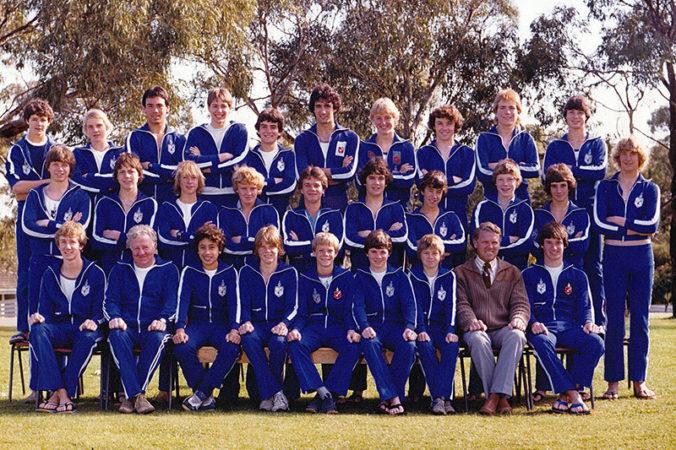 1981 Swim Team Jw81