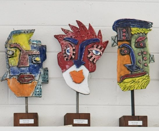 Artwork Pottery Masks Cropped
