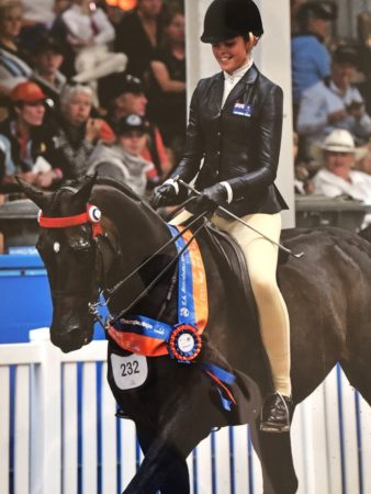 Kate Marriot At Australiasian Show Horse And Rider Championship Nationals