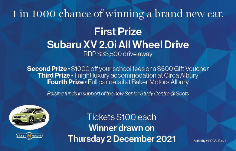 1 in 1000 chance of winning a brand new car!