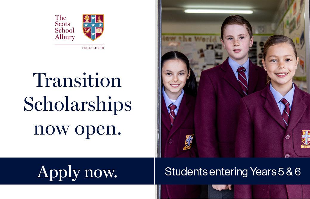 Junior Transition Scholarships