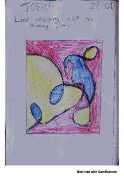 Art Joelle Colle Year 1