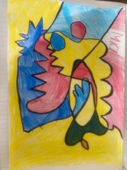 Mia Yr 1 Primary Colours