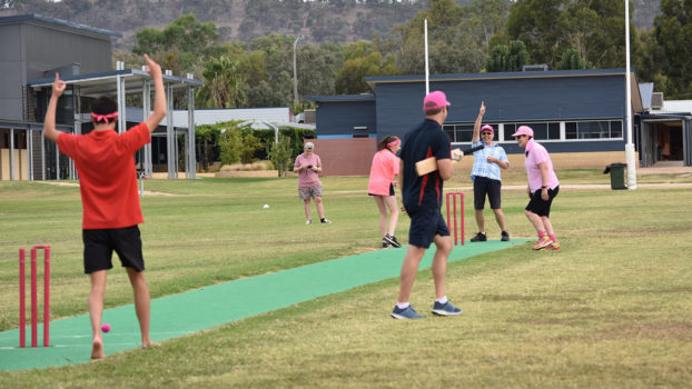 Vlc Early Surprise Wicket Bowled By Amy Mc Aliece Sends Well Being Director Mr Wiese Walking