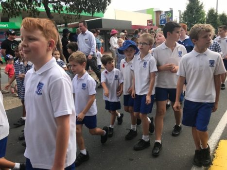 Anzac Day Wodonga March 10