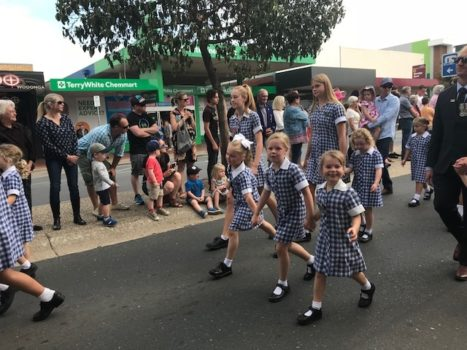 Anzac Day Wodonga March 11