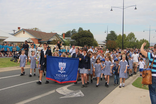 Anzac Day Wodonga March 6