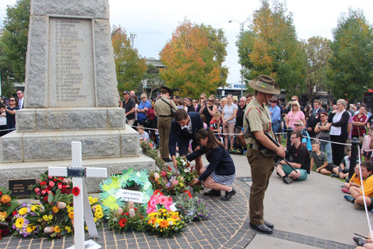 Anzac Day Wodonga March 8