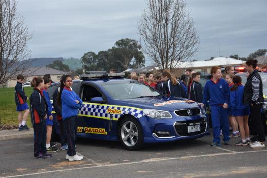Cars Yr 5 Police Car Visit 19