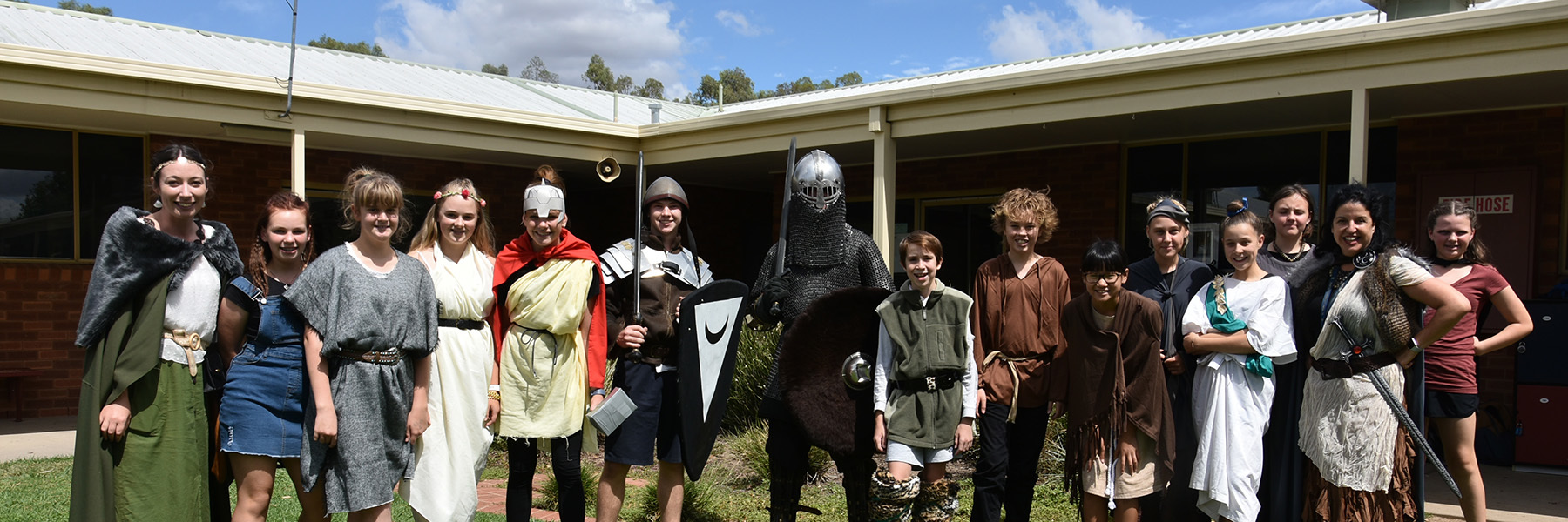 Yr 8 Medieval Day Banner A